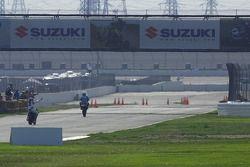 Vitory lap at California Speedway
