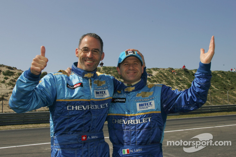Alain Menu und Nicola Larini, Chevrolet