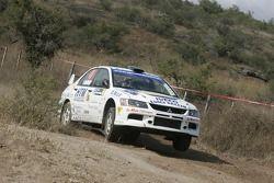 Stefano Marrini and Nicolas Garcia, Mitsubishi Lancer Evolution IX