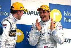Podium, Gary Paffett, Persson Motorsport AMG Mercedes et Paul di Resta, Persson Motorsport AMG Merce
