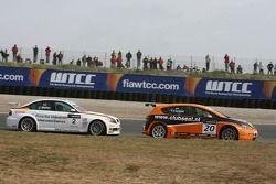 Tom Coronel, GR Asia, SEAT Leon e Jorg Muller, BMW Team Germany, BMW 320si WTCC
