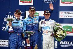 Nicola Larini, Team Chevrolet, Chevrolet Lacetti, Alain Menu, Team Chevrolet, Chevrole