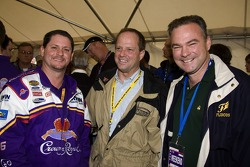 Jim Stewart, Doug Fritz et Govenor Tim Kaine
