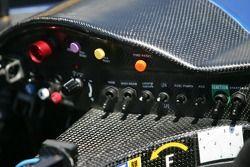 Instrument panel of the Dyson Racing Team Porsche RS Spyder
