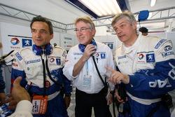 Serge Saulnier et Michel Barge