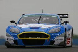 #36 Jetalliance Racing Aston Martin DBR9: Lukas Lichtner-Hoyer, Robert Lechner