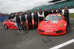 Nigel Mansell, Racing for Scuderia Ecosse, Ferrari F430 GT