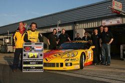 Mike Hezemans celebrates his 10th FIA-GT pole