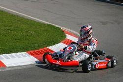 Vodafone Spain Go-Karting Challenge: Fernando Alonso, McLaren Mercedes