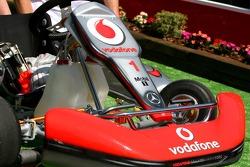 Fernando Alonso, McLaren Mercedes, Go-Kart