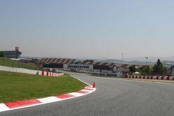 La barda en el Circuito de Cataluña