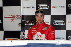Provisional second place qualifier James Hinchcliffe