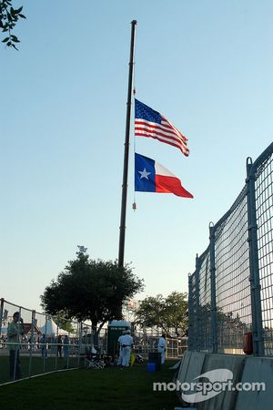 Flags at half staff in memory of Virginia Tech shooting victims