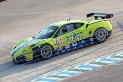 #61 Risi Competizione Ferrari 430 GT: Nic Jonsson, Tracy Krohn