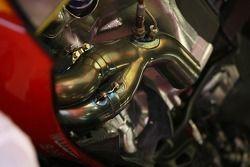 Scuderia Ferrari, F2007, exhaust detay