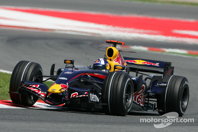 2007 - Red Bull, David Coulthard