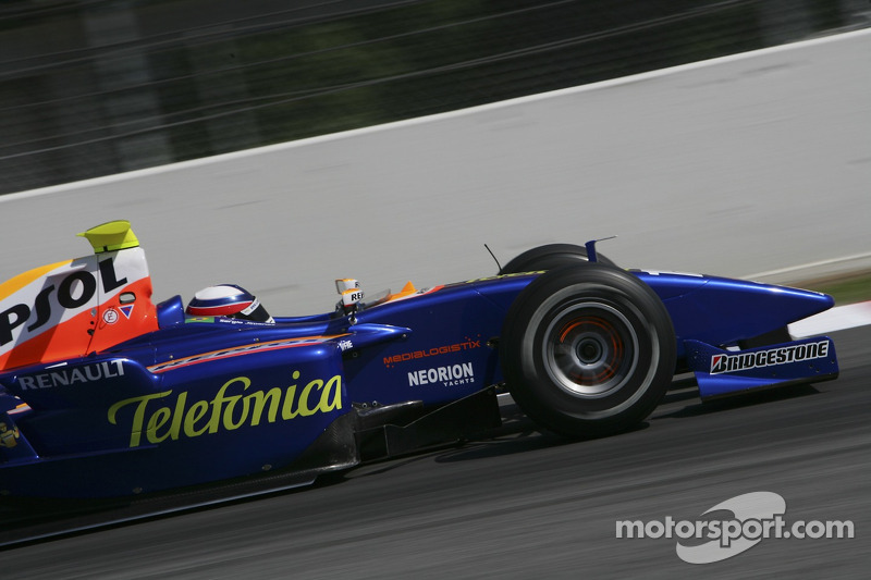 Depois da abertura da temporada, Jimenez disputou a segunda etapa, em Barcelona