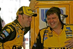 Matt Kenseth and crew chief Robbie Reiser