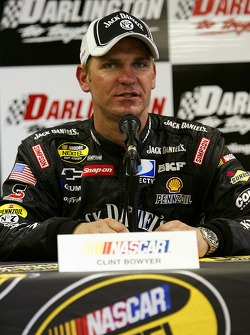 Press conference: pole winner Clint Bowyer