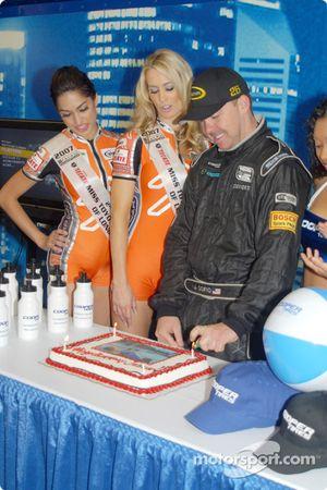 Célébration d'anniversaire pour Justin Sofio
