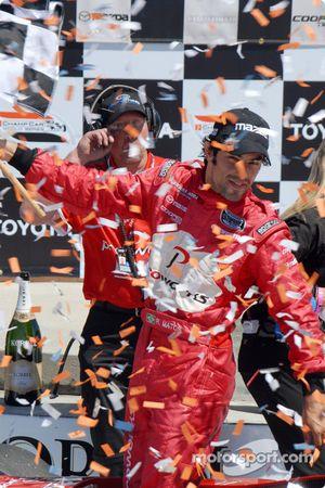 Podium: Raphael Matos fête sa victoire