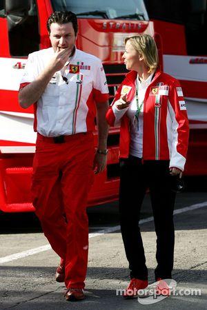 Sabine Kehm, Michael Schumacher'in personal Basın Sorumlusu