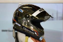 Nick Heidfeld, BMW Sauber F1 Team,, kask for İspanyol Grand Prix
