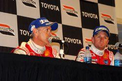 P1 podium press conference: winners Dindo Capello and Allan McNish