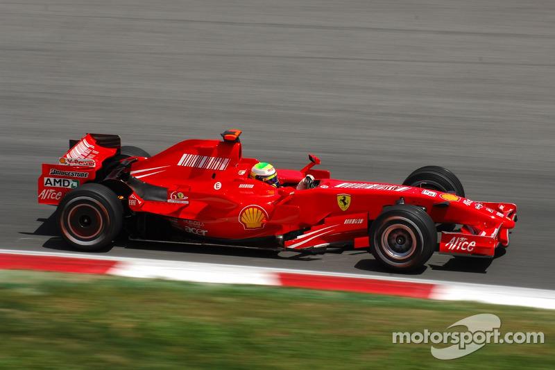 2007 Felipe Massa, Scuderia Ferrari, F2007