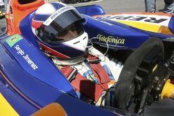 Sergio Jimenez on the grid