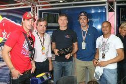 Sergio Ramos, Real Madrid, Futbolcu, Carlos Sainz, Ex WRC Dünya Şampiyonu, David Coulthard, Red Bull