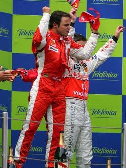 Podio: el ganador de la carrera, Felipe Massa