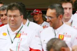 Célèbration de la victoire à Ferrari: Michael Schumacher, conseiller Scuderia Ferrari