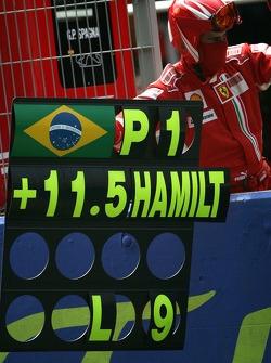 Panneau pour Felipe Massa, Scuderia Ferrari