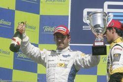 Timo Glock on the podium