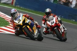 Max Biaggi et Troy Bayliss