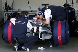 Mécaniciens BMW Sauber F1