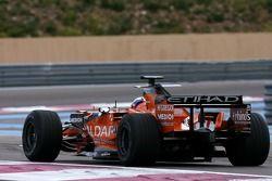 Markus Winkelhock, Test Driver, Spyker F1 Team