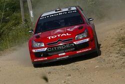 Себастьен Лёб и Даниэль Элена, Citroen Total WRT, Citroen C4 WRC