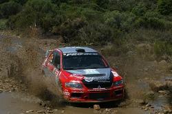 Tomaso Pileri et Maurizio Pili, Mitsubishi Lancer Evolution IX