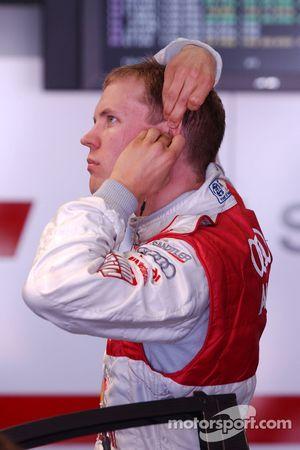 Mattias Ekström, Audi Sport Team Abt Sportsline, Audi A4 DTM met des bouchons dans ses oreilles