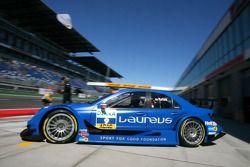 Gary Paffett, Persson Motorsport AMG Mercedes, AMG-Mercedes C-Klasse, sort de son garage