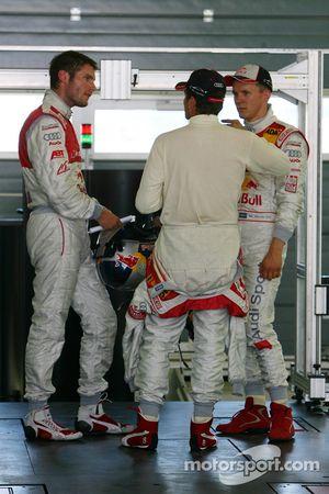 Martin Tomczyk, Audi Sport Team Abt Sportsline, Timo Scheider, Audi Sport Team Abt Sportsline et Mat