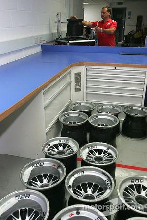 Wheel NDT Department
