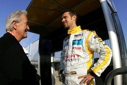 Hughes de Chaunac y Tiago Monteiro, SEAT Sport, SEAT Leon