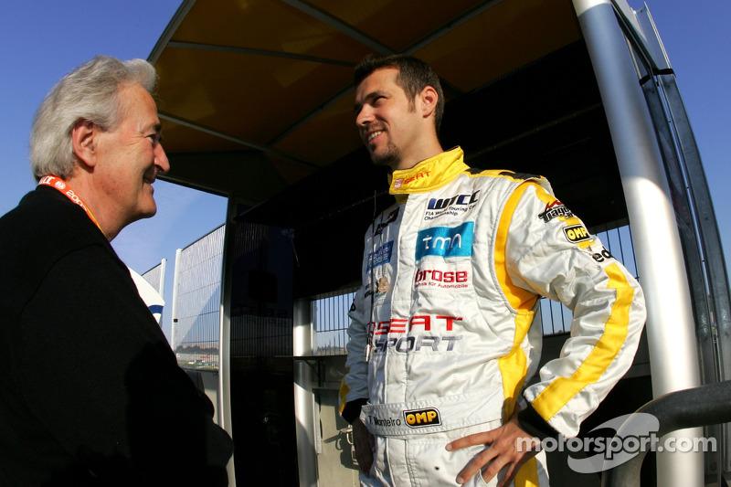 Hughes de Chaunac e Tiago Monteiro, SEAT Sport, SEAT Leon