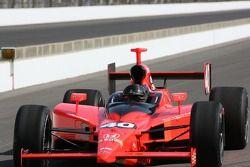 La voiture du fils de Parnelli Jones (PJ Jones), vainqueur en 1963 des Indianapolis 500