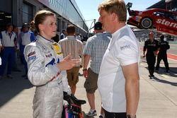 Susie Stoddart, Mücke Motorsport AMG Mercedes, AMG Mercedes C-Klasse est accueilli très chaleureusem
