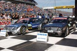 Voitures DTM de Bruno Spengler, Team HWA AMG Mercedes, AMG Mercedes C-Klasse et Mika Hakkinen, Team