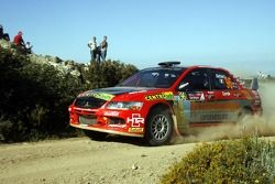 Giuseppe Dettori et Marco Corda, Mitsubishi Lancer Evolution IX